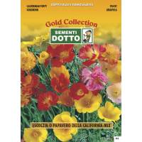 Californian Poppy (Eschscholtzia californica) - Gold Seeds by Sementi Dotto 1.6gr
