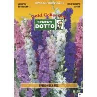 Larkspur (Delphinium consolida)  - Gold Seeds by Sementi Dotto 2gr