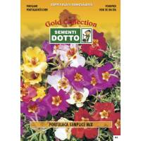 Purslane (Portulaca grandiflora) - Gold Seeds by Sementi Dotto 0.6gr