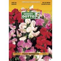 Sweet Pea (Lanthyrus odoratus) mix - Gold Seeds by Sementi Dotto 4.7gr