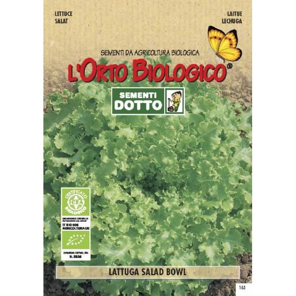 Lettuce Salad Bowl 3 4gr Bio Garden Seeds By Sementi Dotto