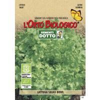 LETTUCE SALAD BOWL 3,4gr - Bio Garden Seeds by Sementi Dotto
