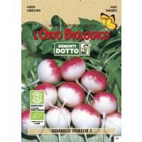 RADISH SPARKLER 3 - Bio Garden Seeds by Sementi Dotto