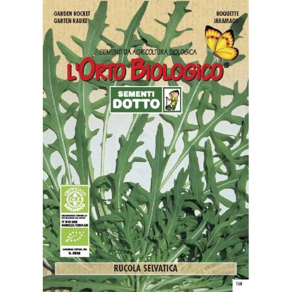 Wild Garden Rocket 0 35gr Bio Garden Seeds By Sementi Dotto