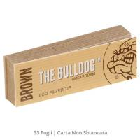 The Bulldog - Brown Eco 33 Filter Tip - Single pack