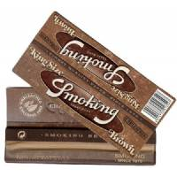 Smoking King Size Cigarette Papers - Brown