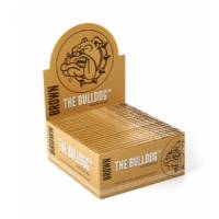 The Bulldog - Eco Brown King Size Unbleached Smoking Papers 50pcs