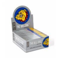 The Bulldog - King Size Slim Silver 32 Sheets 50pcs