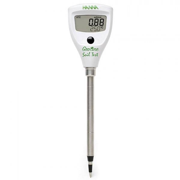 Digital Meter Hanna Instruments EC/°C - for SOIL