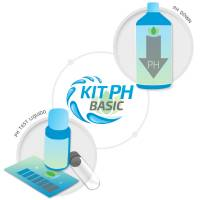 Basic pH Test Kit + 1L pH- Grow