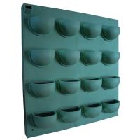 Flowall 40x42cm Green