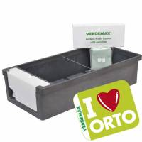 Urban Garden I LOVE ORTO  by Verdemax - Anthracite colour