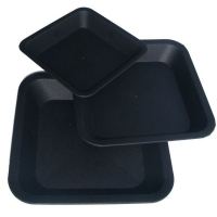 Square saucer for 0,4L and 1,4L pots