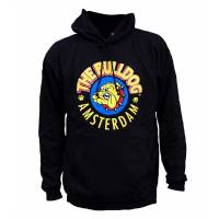 The Bulldog - Black Hoodie L
