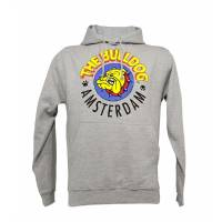 The Bulldog - Grey Hoodie L