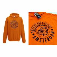 The Bulldog - Orange Hoodie S
